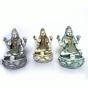 Fonte Shiva Com Flor De Lótus