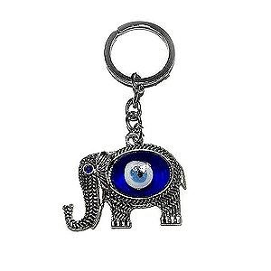 Chaveiro Elefante Rei com Olho Grego