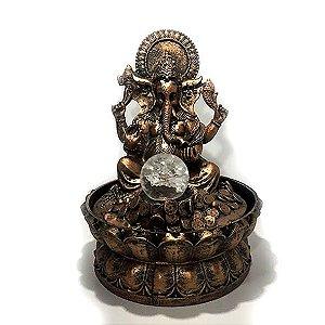 Fonte Ganesha com Bola da Cristal