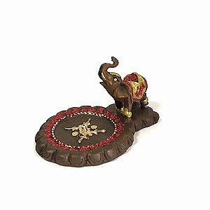 Incensário Elefante Redondo