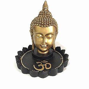 Incensário Cabeça de Buda Tibetano