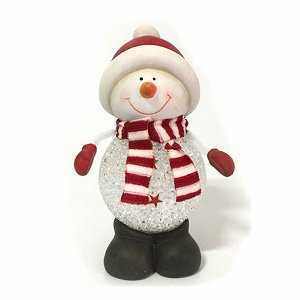 Boneco de Neve LED