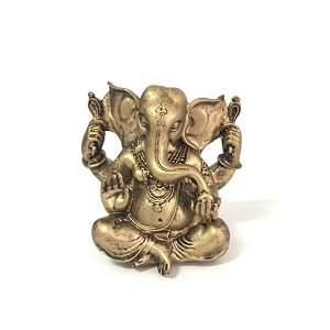 Ganesha Bebê em Resina