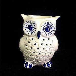 Rechô Coruja Cerâmica