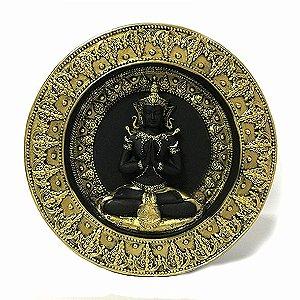 Buda Tibetano Meditando - Parede