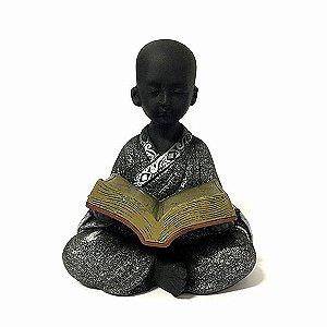 Monge Sentado com Livro