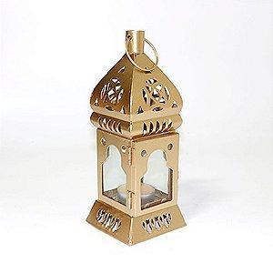 Porta Vela Lanterna Dourada