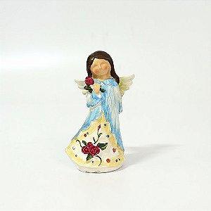 Anjo Menina sem Rosto - Cores