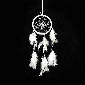 Filtro dos Sonhos Branco - Pequeno