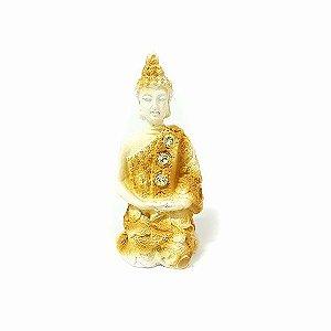 Buda Tibetano Meditando - Cores Diversas 9cm