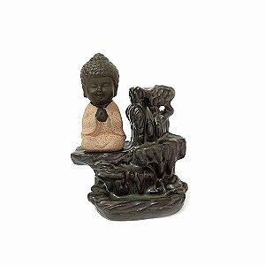 Incensário Buda Cascata