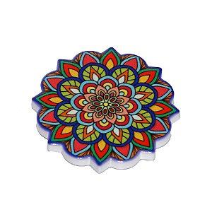 Imã Mandala em Cerâmica