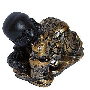 Buda Criança com Chaleira