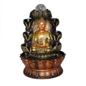 Fonte Buda Meditando 8 Quedas