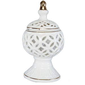 Turíbulo de Mesa em Cerâmica