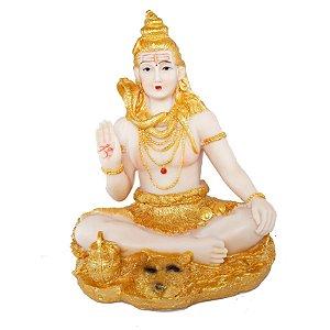 Estatueta Shiva Dourada