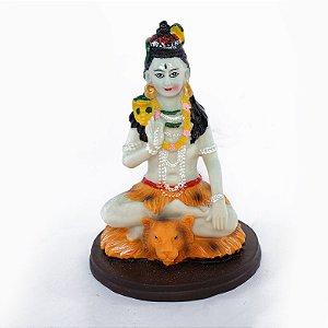 Estatueta Shiva Colorida Pequena