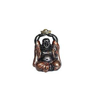 Mini Buda da Fortuna Preto