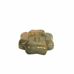 Incensário Trevo de Pedra Sabão