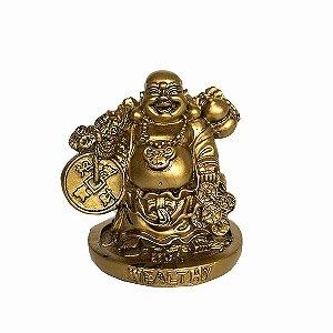 Buda Riqueza Dourado