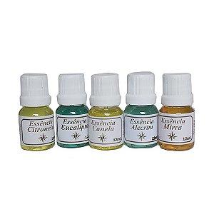 Essência de Ervas e Especiarias 12ml - Diversos Aromas