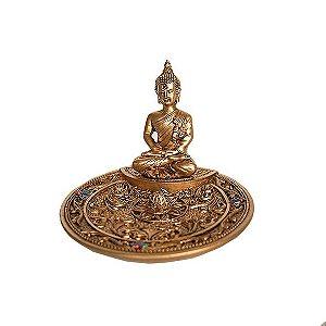 Incensário Prato Buda - Importado