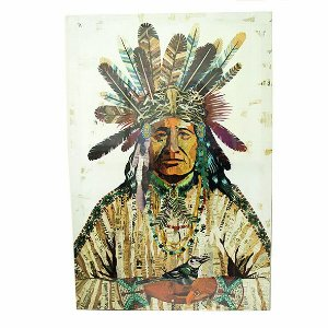 Quadro Índio 60x40 cm