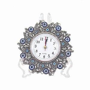 Relógio de Mesa Olho Grego