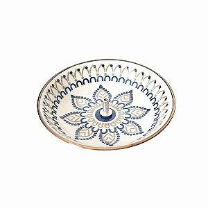 Incensário Prato em Cerâmica