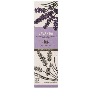 Incenso Nirvana Lavanda