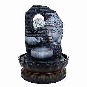 Fonte Cabeça de Buda 3 Quedas com Bola de Cristal