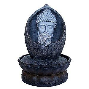 Fonte Cabeça de Buda com Bola de Cristal