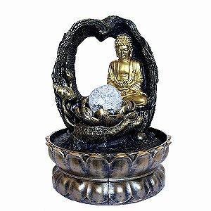 Fonte Buda no Arco com Bola de Cristal