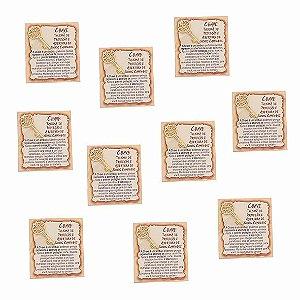 Amuleto Chave - Pacote com 10