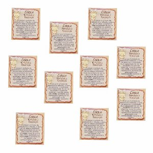 Amuleto Coruja - Pacote com 10