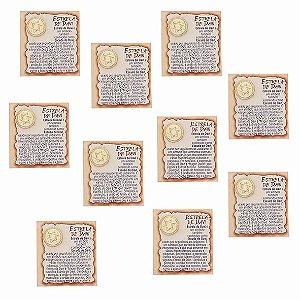 Amuleto Estrela de Davi - Pacote com 10
