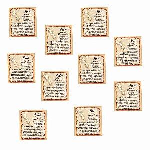 Amuleto Figa - Pacote com 10