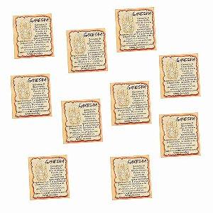 Amuleto Ganesha - Pacote com 10