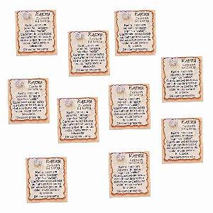 Amuleto Kaeru - Pacote com 10
