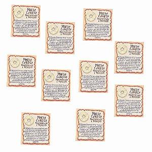 Amuleto Moeda Chinesa - Pacote com 10