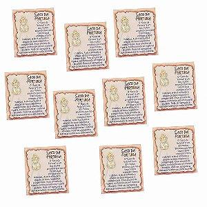 Amuleto Saco da Fortuna - Pacote com 10