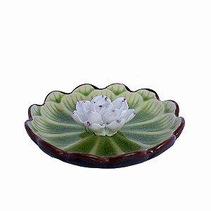Incensário Prato com Flor de Lótus - Diversos Modelos