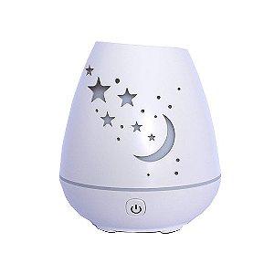 Aromatizador e Umidificador Modelo Lua e Estrelas USB