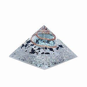 Pirâmide Esfera de Proteção - Turmalina