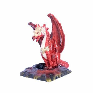 Incensário Cascata Dragão - Cores Diversas