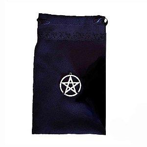 Saco para Tarô com Pentagrama