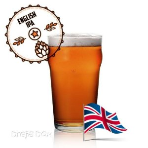 English IPA kit receita - Breja Box