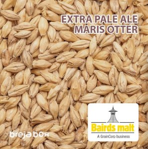 Malte Extra Pale Ale Maris Otter - Bairds | 5 EBC Breja Box