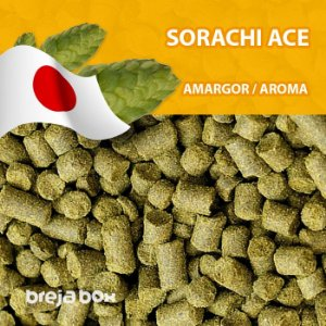 Lúpulo Sorachi Ace - 50g em pellet | Breja Box