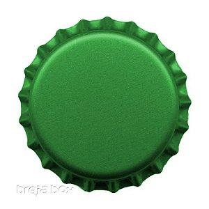 Tampinha de garrafa Verde - 100 unidades |PRY OFF - Breja Box